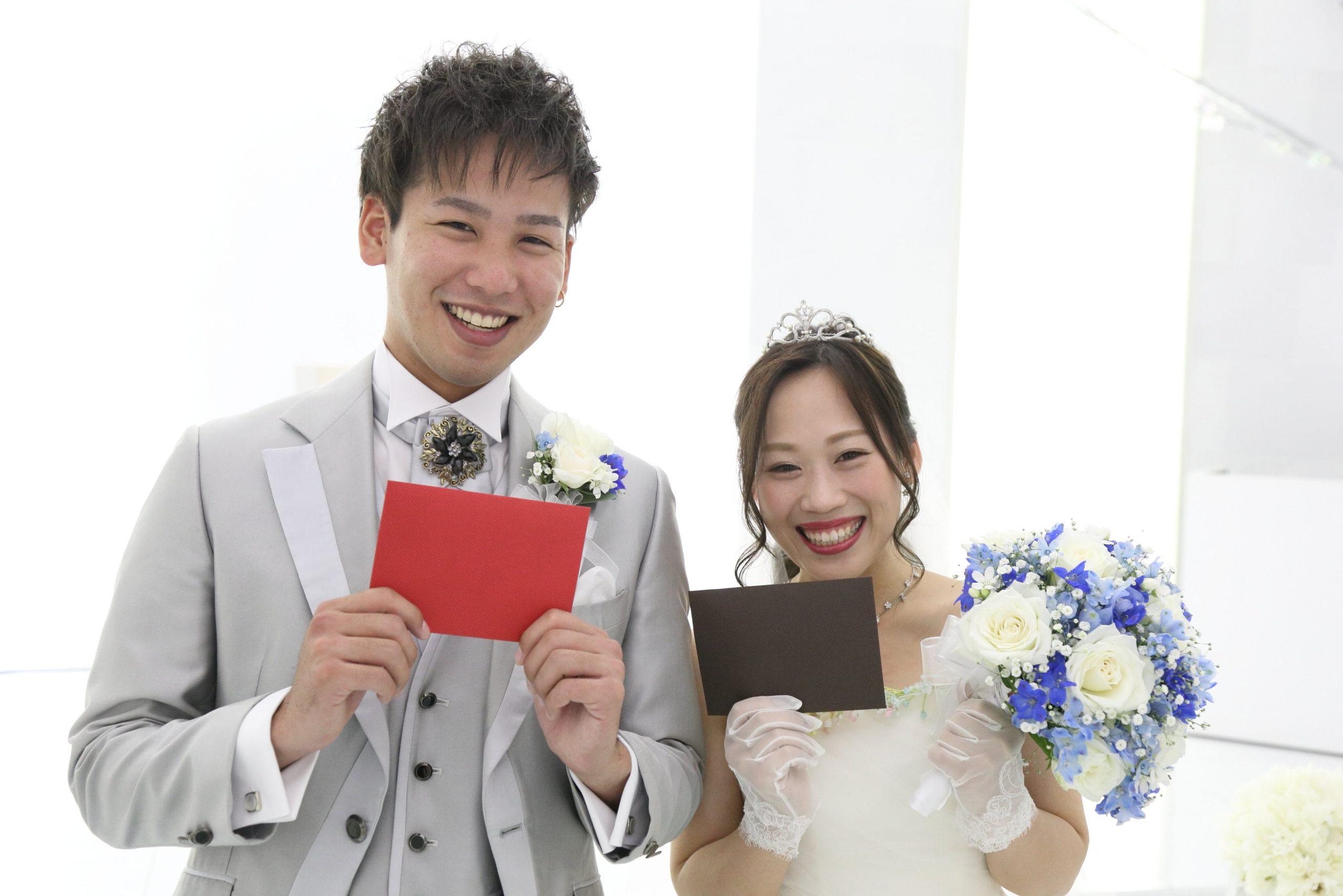 【想いが繋がる】WEDDING