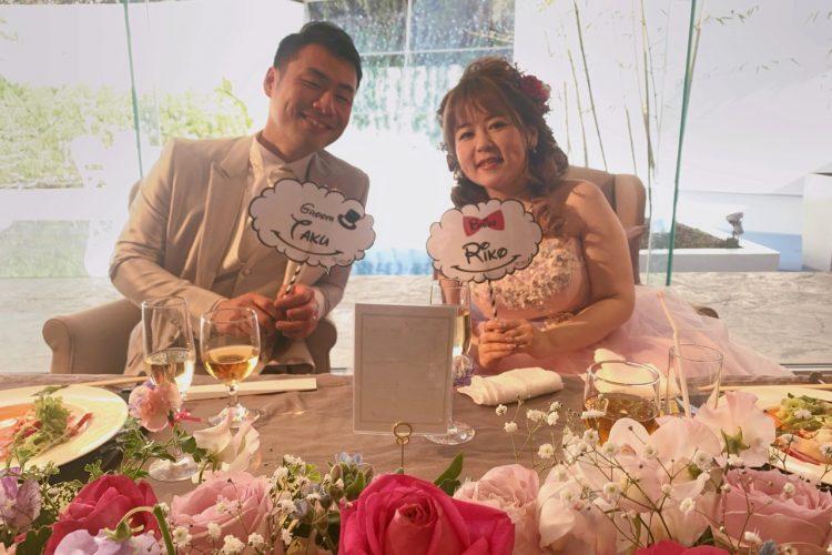 描いてた通りの結婚式ができました!