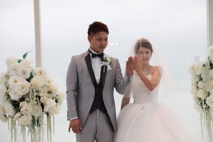 憧れの天空のチャペルでの結婚式!!