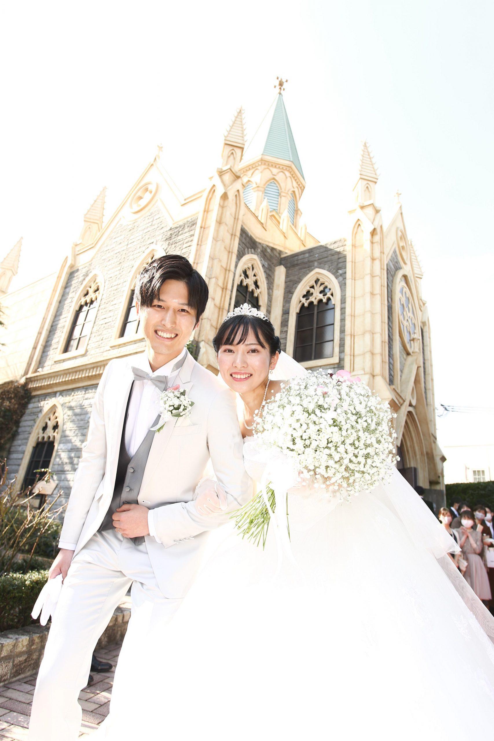 思い出いっぱいの結婚式